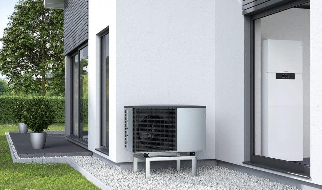 toplotna črpalka zagotavlja tiho delovanje